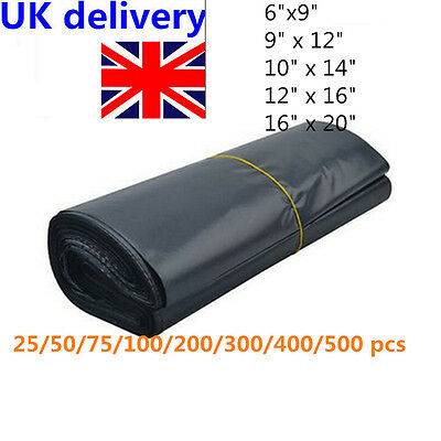 Strong Dark Grey Plastic Mailing Bag Poly Postage Post Mail Self Seal Bags