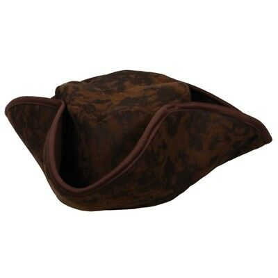 Jack Sparrow Adults Pirate Hat Caribbean Pirate Mens Ladies Fancy Dress