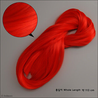 Dollmore BJD OOAK Heat Resistant Hair (Red:100g)