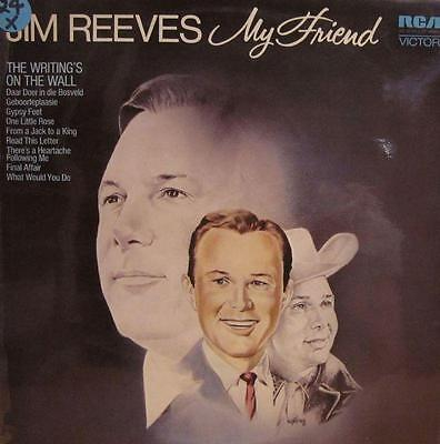 Jim Reeves(Vinyl LP)My Friend-RCA Victor-SF 8258-UK-VG+/VG+