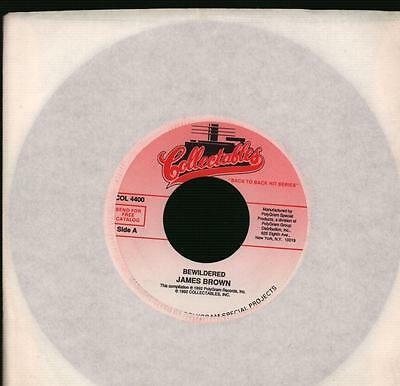 """James Brown(7"""" Vinyl)Bewildered / Out Of Sight-Collectables-COL 4400-6-VG/NM"""