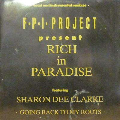 "F.P.I Project(12"" Vinyl)Rich In Paradise-Rumour-RUMAX 9-UK-VG/Ex"