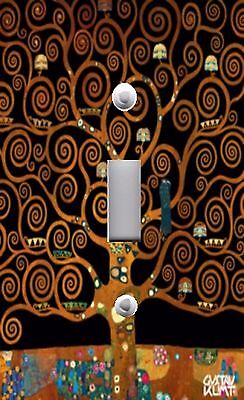Light Switch Plate & Outlet Covers KLIMT TREE OF LIFE ~ 02