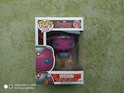 marvel,avengers,ultron, funko,pop,VISION,neuf,aou,71,phasing,exclusive