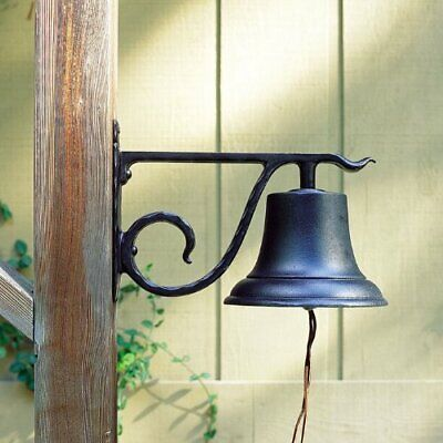Whitehall Products, Large Aluminum Country Bell 00604, 8 inches diameter with 13