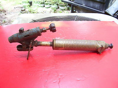 Extremely Rare  Vintage Antique Blow Torch Soldering Iron Tool, G.barthel