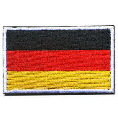 Germany FLAG DEU TACTICAL ARMY MORALE MILITARY Embroidery BADGE PATCH