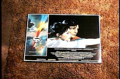 Superman 1978 Lobby Card #4 Christopher Reeves