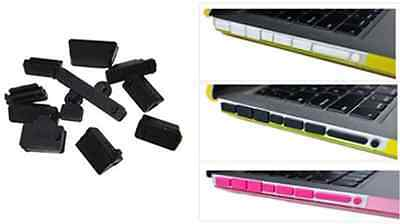 13Pcs Universal Silicone USB HDMI Port Anti Dust Plug Cover Laptop Notebook CAD