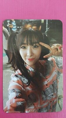 SNSD TIFFANY Official Photo Card 5th YOU THINK #1 Girl's Generation Photocard