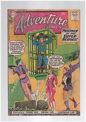 Adventure Comics # 267  2nd app Legion of Superheroes  grade 2.0 scarce  book !!