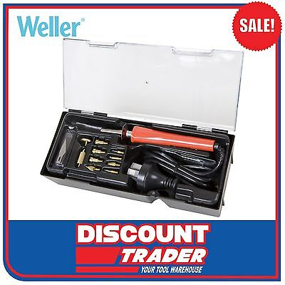 "Weller Wood Burning and Hobby Kit 15 Piece ""DT SUPER SAVER"" WHK30AU"