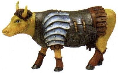 Cow Parade 2002 GLADIATOR MINIATURE FIGURINE #7573 New in Box & Hard to Find!