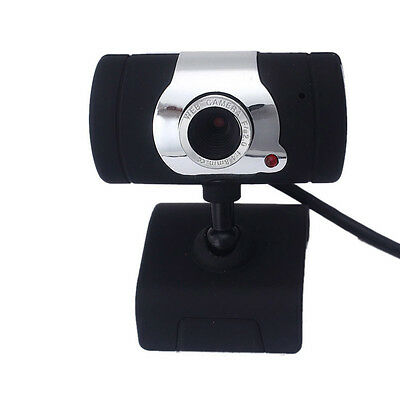 USB HD Webcam Web Cam Camera + Built-in Microphone For Computer Laptop Desktop