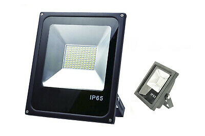 Faro Led 100W Watt Luce Naturale Smd Slim Spot Alta Luminosita Waterproof