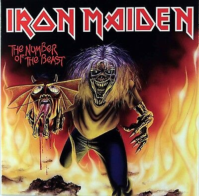 """Iron Maiden - The Number of the Beast - New 7"""" single"""