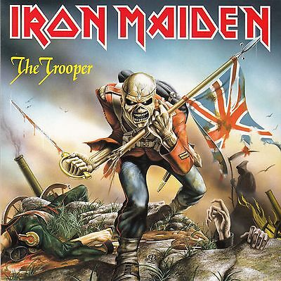 "Iron Maiden - The Trooper - New 7"" single"