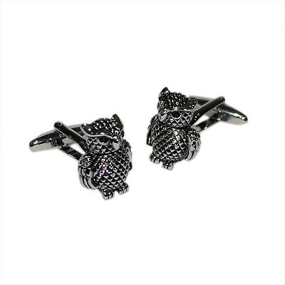 High Quality Detailed Owl Design Cufflinks X2AJ601