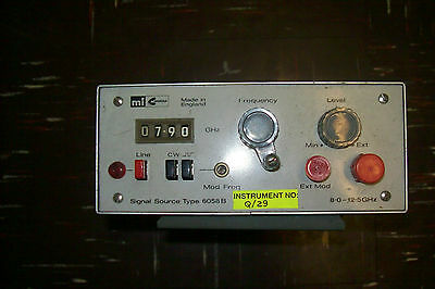 Marconi Signal source generator type 6058B