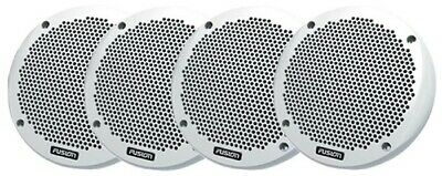 4 x FUSION ✱ 6 Inch MARINE SPEAKERS 150W ✱ 2-Way SHALLOW Mount  BRAND NEW EL602