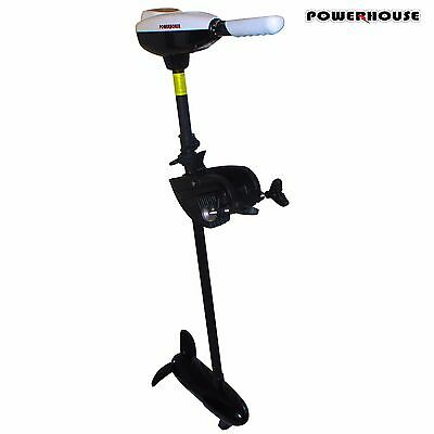 """Powerhouse 42"""" Electric Trolling Motor 86LBS WITH FREE EXTRA Weedless Propeller"""