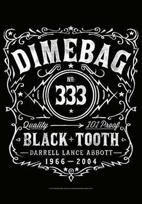 """DIMEBAG DARRELL """"LABEL""""  Fabric Poster Oversized 30""""X40"""" Poster Flag NEW"""