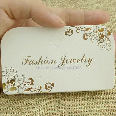 15087*50PCS Dangle Earrings Packaging Display Hanging Card Necklace Bracelet