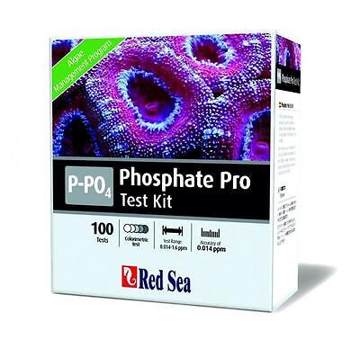 Red Sea Phosphate PRO Test Kit Marine Care Aquarium Reef Fish Tank - 100 Tests