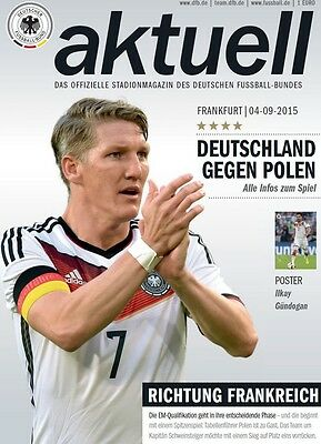 official Programme 04/09/2015 Germany vs Poland