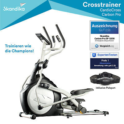 Fitness & Jogging Ellipsentrainer Buzz von Hop-Sport Crosstrainer Stepper Elliptical Heimtrainer