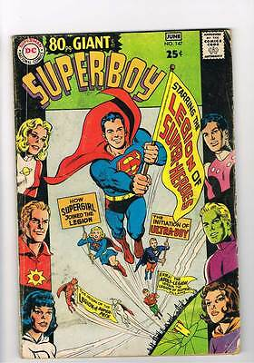 Superboy # 147  80 page Giant Legion issue grade 3.5 scarce hot book !!