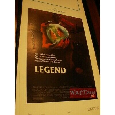 Locandina Film LEGEND di Ridley Scott Original Poster Cinema