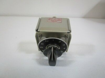 Switchcraft Switch Switchcraft  Rs21-2-12 *used*