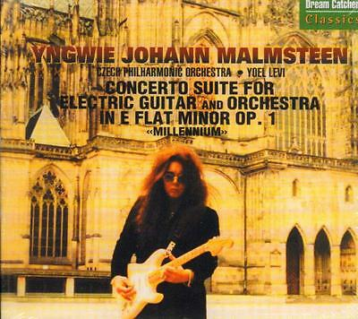 Yngwie Malmsteen(CD Album)Concerto Suite For Electric Guitar-Dreamcatch-New