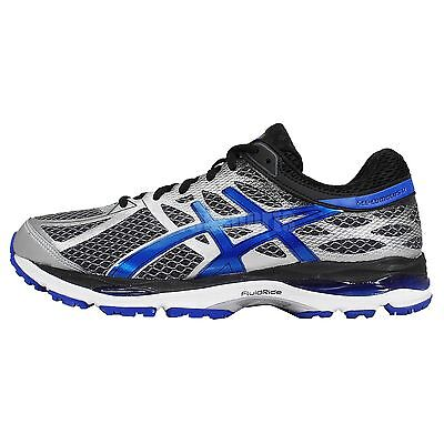 Asics Gel-Cumulus 17 4E Extra Wide Grey Blue Black Mens Running Shoes T5E0N-1539