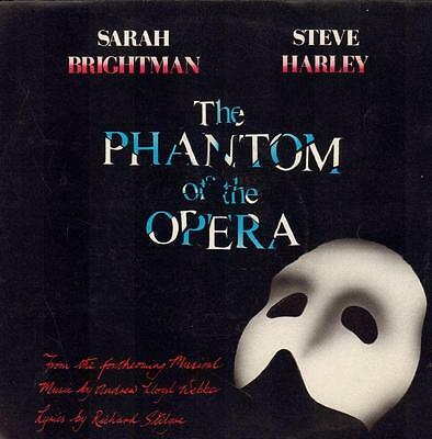 "Sarah Brightman(7"" Vinyl P/S)The Phantom Of Opera-Polydor-POSP 800-UK-1-VG/VG+"