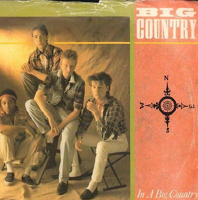 "Big Country(7"" Vinyl P/S)In A Big Country-Mercury-COUNT 3-UK-M-/VG"