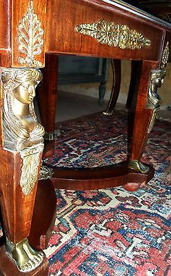 PRUNK COUCH SOFA TISCH MARMOR MYTHOLOGIE BRONZE GOLD FIGUREN MÖBEL antik 18 19?
