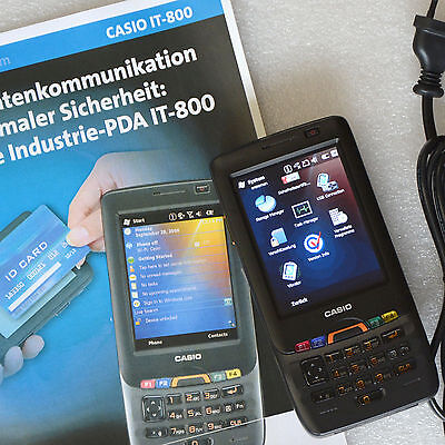 Industry Pda Casio It-800 It-800Rgc-65D With Scanner Camera Gsm Telephone Gps
