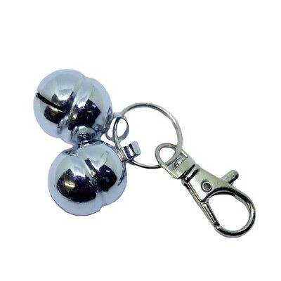 Bells for Dogs & Cats Quality Lahore (A Pair with Lobster Clasp & split ring)