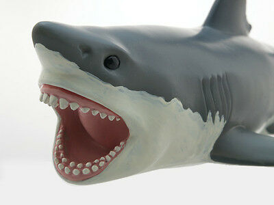 Great White Shark, Large Air-Filled Vinyl Squeeze Toy - New - They're Huge!