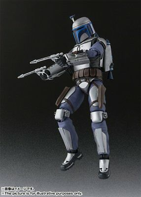 BANDAI S.H.Figuarts Jango Fett Action Figure Star Wars Japan