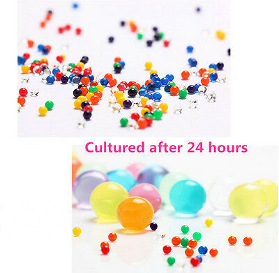 10Bags Crystal Soil Beads Mud Water Jelly Gel Ball Wedding Flower Decorations