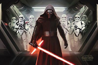 "Star Wars Episode VII - Kylo Ren and Stormtroopers - Maxi Poster - 24"" x 36"""