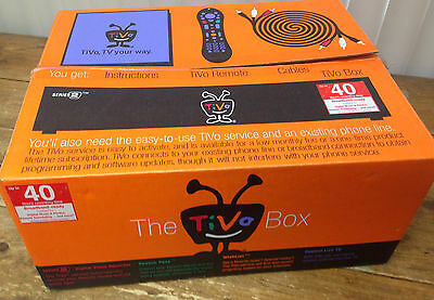 The Tivo Box Series 2 R2404A TCD24004A New Box Recorder Remote Cables Pamphlets
