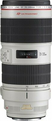 Canon - Objectif - EF 70-200 mm f/2,8L IS II USM pour Séries EOS [Blanc NEUF