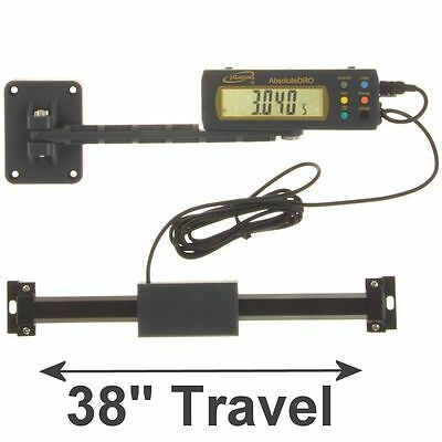 """iGaging Absolute DRO Digital Readout 38""""/950mm Read Out Stainless Steel Beam"""