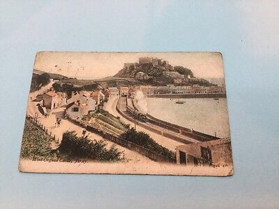 old postcard Jersey