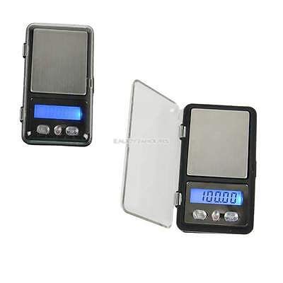 MINI 100g 0.01 DIGITAL POCKET SCALES JEWELLERY PRECISION ELECTRONIC WEIGHT LAB