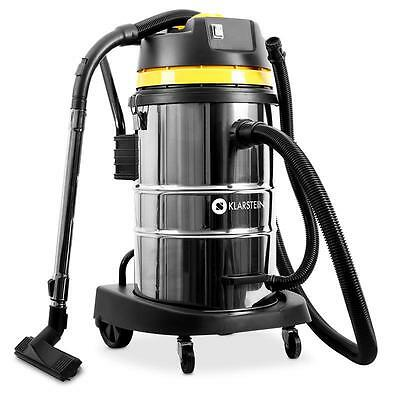 50L Wet And Dry Vacuum Home Shop Vac 2000W 50 Litre Industrial Stainless Steel